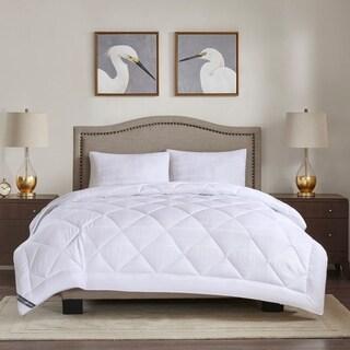 Madison Park 525 Thread Count White All Season Cotton Rich Down Alternative Comforter