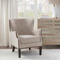 Madison Park Randol Cream Accent Chair
