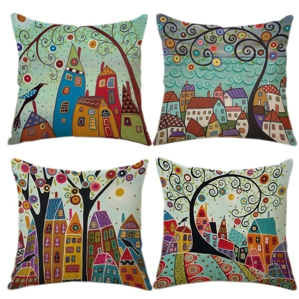 Throw Pillow Covers Home Decor Kids Room Cushion Cases
