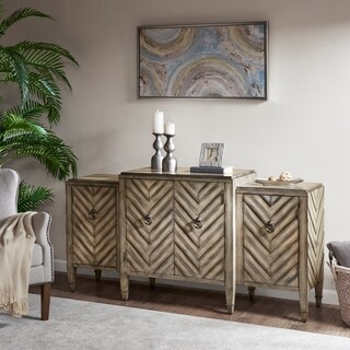 Madison Park Egan Beige Sideboard