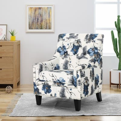 Club Chairs, White Living Room Chairs | Shop Online at Overstock