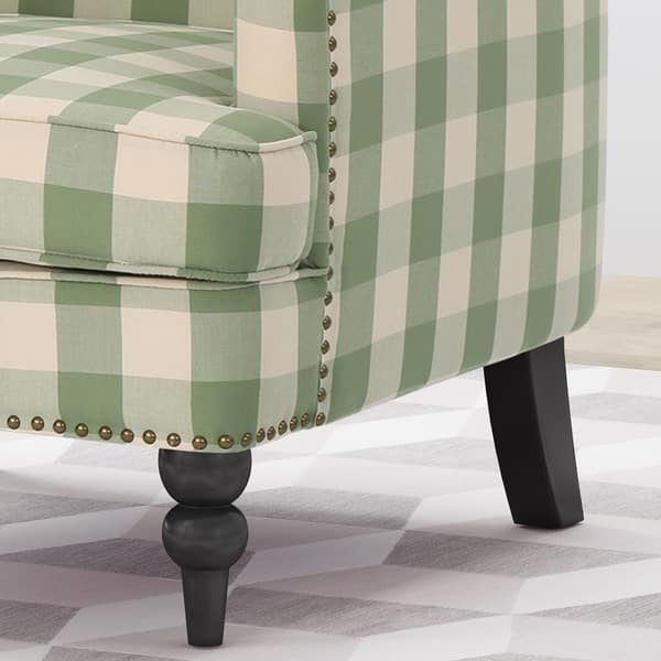Harrison Tufted Fabric Club Chair By Christopher Knight Home On Sale Overstock 22321361