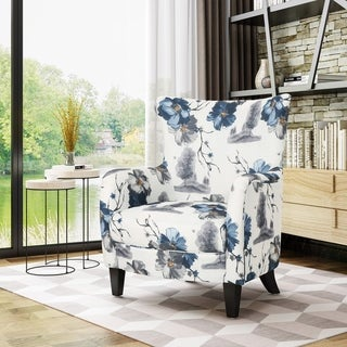 Link to Arabella Fabric Club Chair by Christopher Knight Home Similar Items in Living Room Chairs