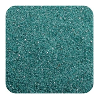Sandtastik Floral Colored Sand 2 lb (909 g) Bag - Teal