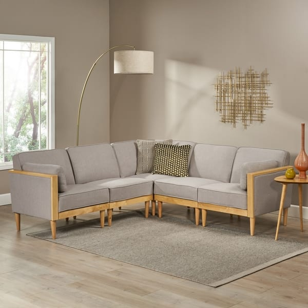 Shop Pembroke 5-piece Contemporary Sectional Sofa Set by ...