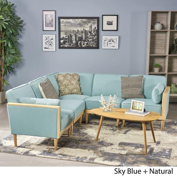 Magnificent Shop Pembroke 5 Piece Contemporary Sectional Sofa Set By Dailytribune Chair Design For Home Dailytribuneorg