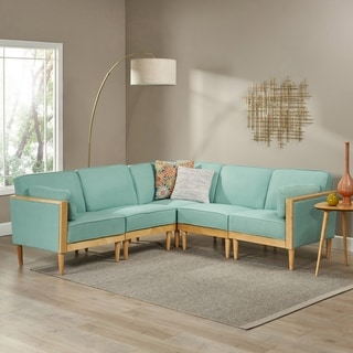 Pembroke 5-piece Contemporary Sectional Sofa Set by Christopher Knight Home