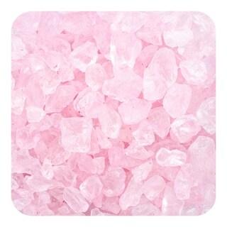 Sandtastik Colored Ice Real Glass Gems, Scatters 10 lb (4.5 kg) Box, 4 - 10 mm - Pink