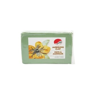 Sandtastik Air Dry Premium Modeling Clay 3.3 lb (1.5 kg) - Green