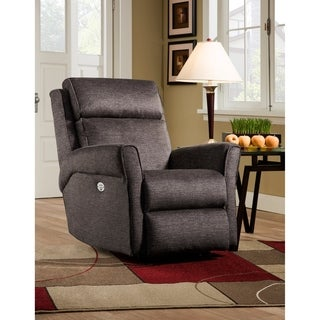 Southern Motion's Radiate Taupe Microfiber Power Headrest Wall Hugger Recliner