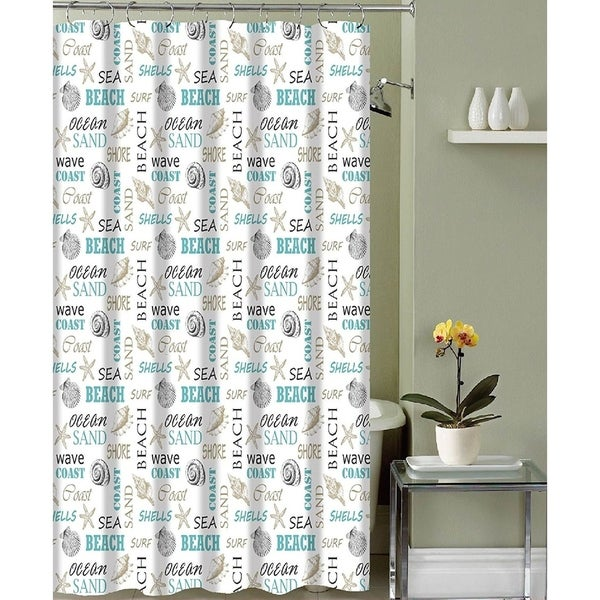Shop Fabric Shower Curtain Modern Decorative