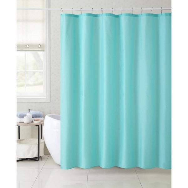 Mystic Shore Magic Changing Fabric Shower Curtain