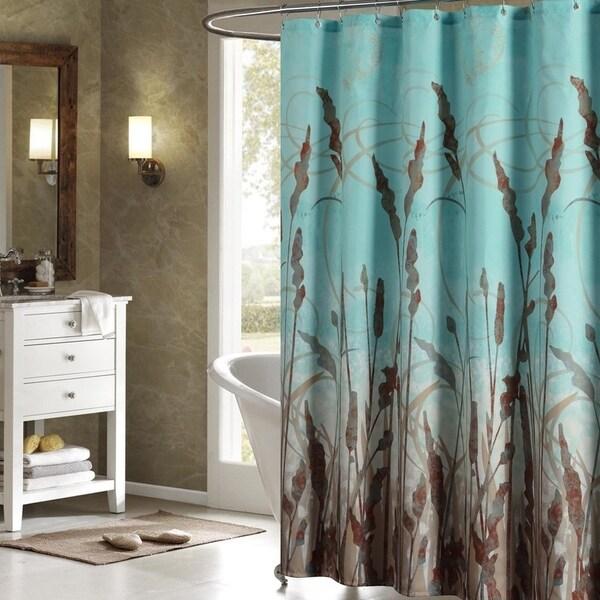 Shop Green Shower Curtain Waterproof Curtain72 W X 72