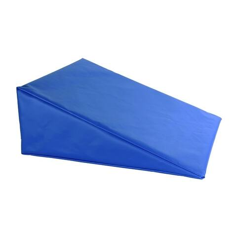 """CanDo® Positioning Wedge - Foam with vinyl cover - Soft - 20"""" x 22"""" x 4"""" - Specify Color"""
