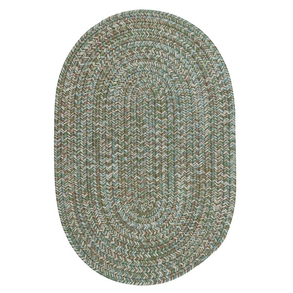 Shop Colonial Mills Farmstand Blue/Green Tweed Seagrass