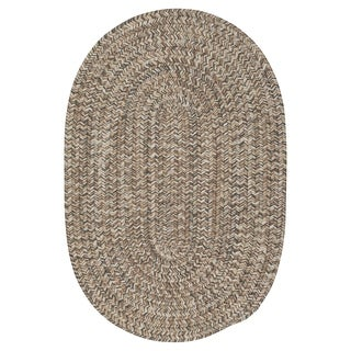 Colonial Mills Farmstand Tweed Driftwood Brown Area Rug (12' x 15')