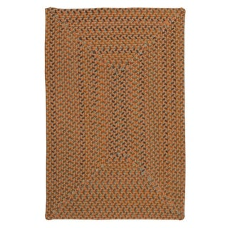 Colonial Mills Mayflower Rust Indoor Braided Area Rug - 12' x 15'