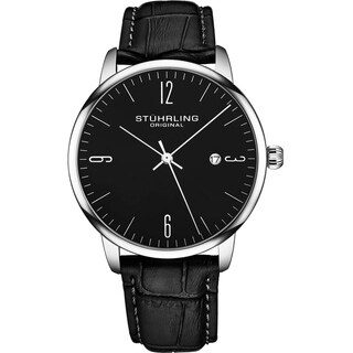 Link to Stuhrling Original Mens Watch Calfskin Leather Strap - 3997A Collection Similar Items in Men's Watches