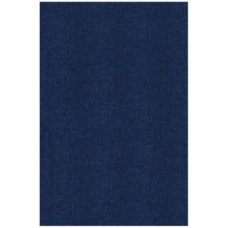 Shaw Berber Superior Blue Area Rug - 12' x 15'