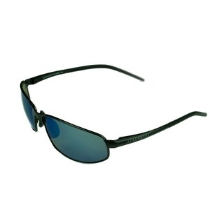 Serengeti Granada Satin Black w/ Polarized 555NM Lens Sunglasses - Medium