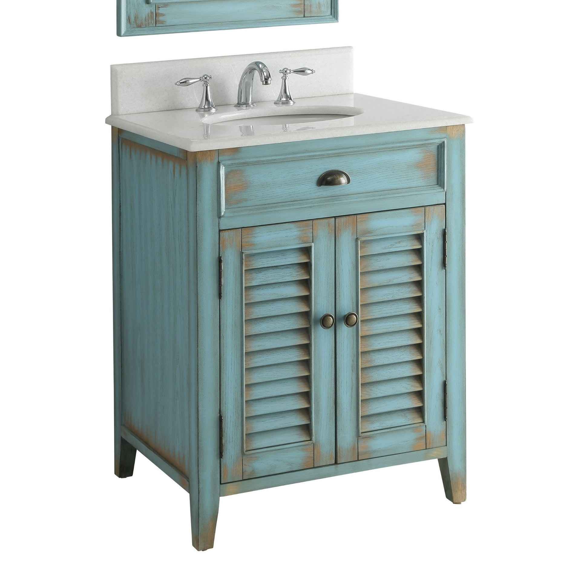 26 Benton Collection Abbeville Rustic Blue Bathroom Vanity Overstock 22322671