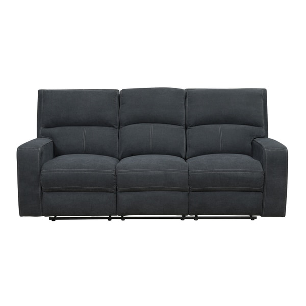 Shop Thompson Blue Motion Sofa With Power Seat And