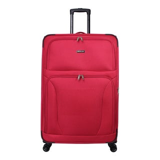 World Traveler Embarque Collection Super Lightweight 30-Inch Spinner Upright Suitcase