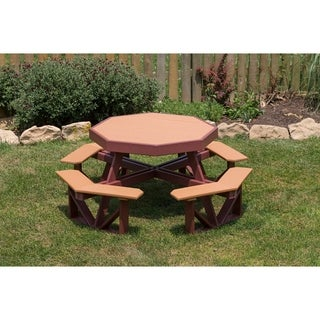 Poly Kids Octagon Picnic Table