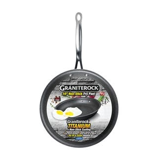Granite Stone Non-stick Mineral Titanium Infused Round Frying Pans