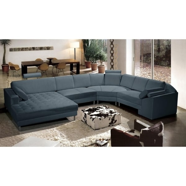 Bryson Leather 4 Piece Sectional Sofa