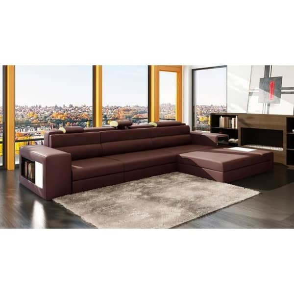 Excellent Shop The Yorkdale 3 Piece Leather Sectional Free Shipping Spiritservingveterans Wood Chair Design Ideas Spiritservingveteransorg