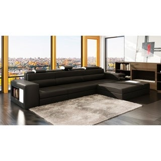 The Yorkdale 3-piece Leather Sectional