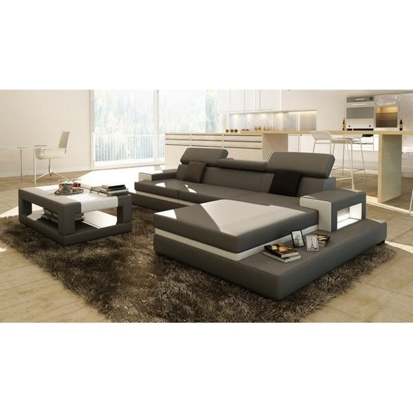 Astounding Shop Sofia Black White Leather Wood 3 Piece Sectional Free Spiritservingveterans Wood Chair Design Ideas Spiritservingveteransorg
