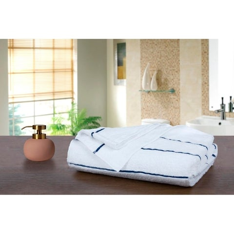 "Ample Decor Cotton Extra Absorbent Beach Towels - 30"" x 68"""