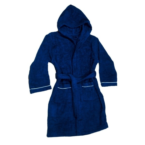Shop Boys Terry Cloth Hooded Bathrobe 100% Cotton Terry Coverup ... bb1b0b295