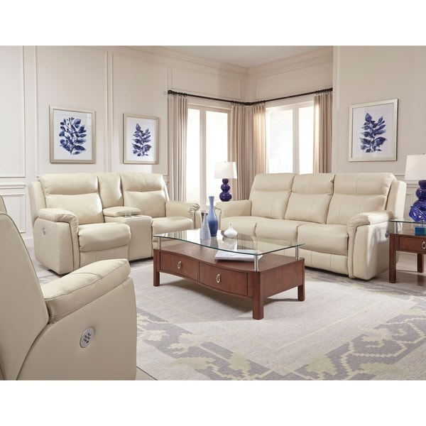 Shop Uptown Power Headrest Sofa Free Shipping Today