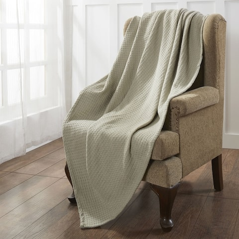 Modern Threads 100-Percent Cotton Thermal Blanket