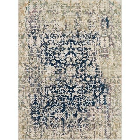 Nourison Fusion Traditional Distressed Area Rug
