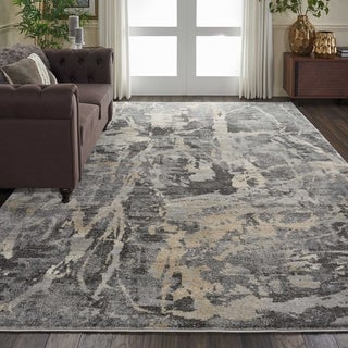 Nourison Fusion Abstract Area Rug