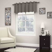 Eclipse Dutton Thermaweave Blackout Window Valance - 52x18