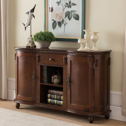 Walnut Wood Console table