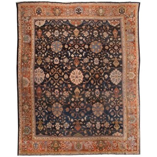 Antique Zeigler Rug, Circa 1900 - 11'4'' x 13'7''