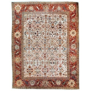 Antique Mahal  Rug, Circa 1880 - 8'8'' x 12'3''