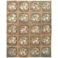 Antique Needlepoint  Rug, Circa 1760 - 12' x 15'