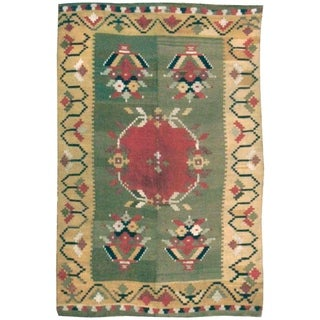 Antique Besserebian Rug, Circa 1920 - 4'2'' x 6'5''