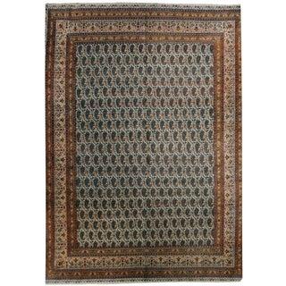 Wool Tabriz Rug - 9'5'' x 12'5''