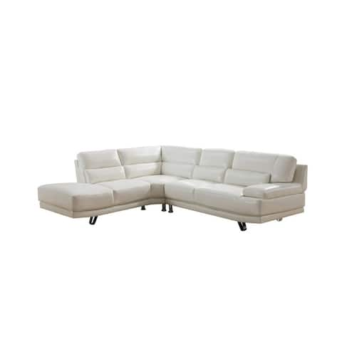 Buy White, Leather Sectional Sofas Online at Overstock | Our Best ...