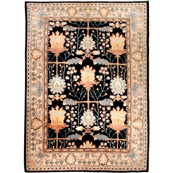 Wool Arts And Crafts Rug 9 X27