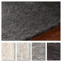 Artist's Loom Alex Collection Wool Handmade Shag Area Rug (5' x 7'6)