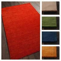 Artist's Loom Amara Collection Wool Handmade Casual Rug (5' x 7'6)